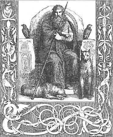 Бог Один (Вотан) Froelich-lundbye-skovgaard-odin