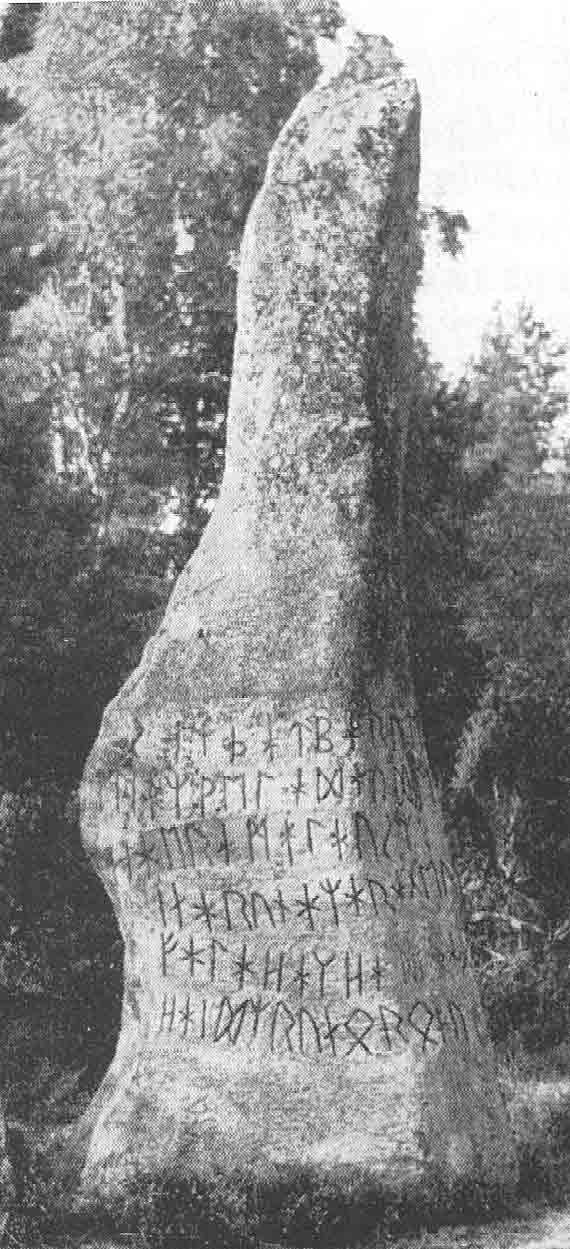 Pictures of Swedish runic Stones